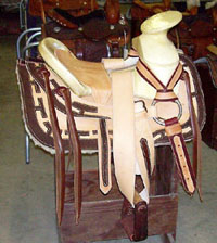 Custom made Charro-DoubleT Saddle