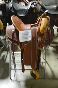 Replica 1800's Western Saddle