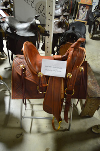 Replica 1855 Western Saddle