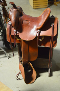 Replica 1860's Western Saddle