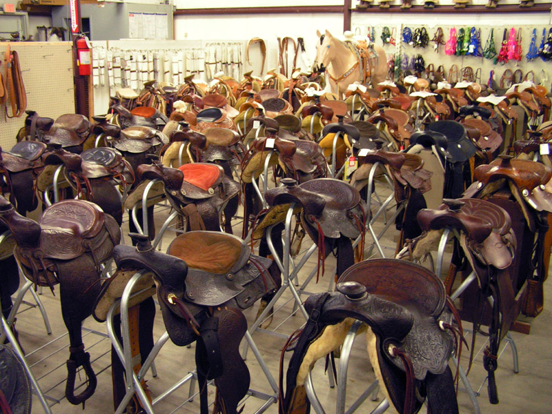 Rockin Bob's Huge Saddle Selection