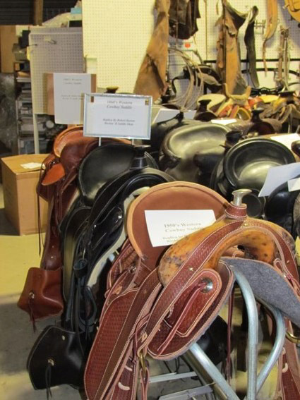 Saddles from 1800 and 1900's